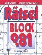 Cover-Bild zu Krüger, Eberhard: Rätselblock 281 (5 Exemplare à 2,99 ?)
