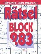 Cover-Bild zu Krüger, Eberhard: Rätselblock 283 (5 Exemplare à 2,99 ?)