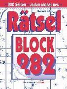 Cover-Bild zu Krüger, Eberhard: Rätselblock 282 (5 Exemplare à 2,99 ?)