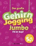 Cover-Bild zu Krüger, Eberhard: Der große Gehirnjogging-Jumbo - bestes Training für den Kopf