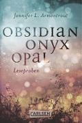 Cover-Bild zu Obsidian: Obsidian. Onyx. Opal. Leseproben (eBook) von Armentrout, Jennifer L.