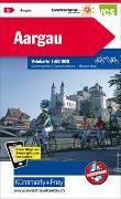 Cover-Bild zu Aargau Velokarte Nr. 5. 1:60'000