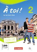Cover-Bild zu À toi! 2. Carnet d'activités von Héloury, Michèle