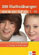 Cover-Bild zu Homrighausen, Heike: Klett 200 Matheübungen wie in der Schule Text- und Sachaufgaben Klasse 5 - 10 (eBook)
