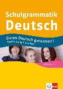 Cover-Bild zu Schwengler, Gerhard: Klett Schulgrammatik Deutsch ab Klasse 5 (eBook)