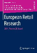 Cover-Bild zu Foscht, Thomas (Hrsg.): European Retail Research (eBook)