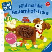 Cover-Bild zu Grimm, Sandra: Fühl mal die Bauernhof-Tiere