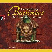 Cover-Bild zu Stroud, Jonathan: Bartimäus - Der Ring des Salomo (Audio Download)
