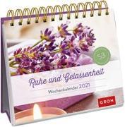 Cover-Bild zu Groh Redaktionsteam (Hrsg.): Ruhe und Gelassenheit 2021