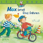 Cover-Bild zu Tielmann, Christian: LESEMAUS: Max lernt Rad fahren (eBook)