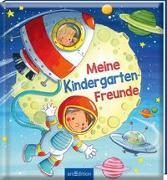 Cover-Bild zu Kraushaar, Sabine (Illustr.): Meine Kindergarten-Freunde (Weltraum)
