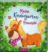 Cover-Bild zu Kraushaar, Sabine (Illustr.): Meine Kindergarten-Freunde (Pferde)