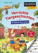 Cover-Bild zu Holthausen, Luise: Duden Leseprofi - Mit Bildern lesen lernen: Verrückte Tiergeschichten