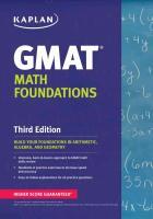 Cover-Bild zu Kaplan GMAT Math Foundations von Kaplan Test Prep