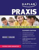 Cover-Bild zu PRAXIS von Kaplan Test Prep
