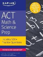 Cover-Bild zu ACT Math & Science Prep von Kaplan Test Prep