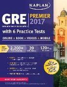 Cover-Bild zu GRE Premier 2017 with 6 Practice Tests von Kaplan Test Prep