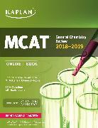 Cover-Bild zu MCAT General Chemistry Review 2018-2019 von Kaplan Test Prep