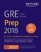 Cover-Bild zu GRE Prep 2018 von Kaplan Test Prep