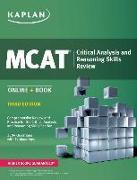 Cover-Bild zu MCAT Critical Analysis and Reasoning Skills Review von Kaplan Test Prep