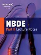 Cover-Bild zu NBDE Part II Lecture Notes von Kaplan Medical