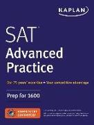 Cover-Bild zu SAT Advanced Practice von Kaplan Test Prep