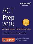 Cover-Bild zu ACT Prep 2018 von Kaplan Test Prep