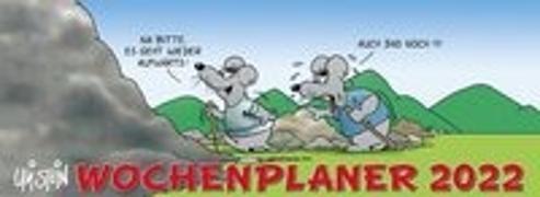 Cover-Bild zu Stein, Uli: Uli Stein - Wochenplaner 2022: Tischkalender