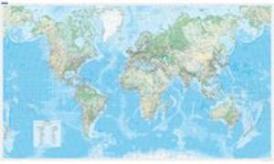 Cover-Bild zu Welt physikalisch (d,f,e) Poster. 1:30'000'000