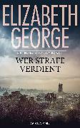 Cover-Bild zu George, Elizabeth: Wer Strafe verdient (eBook)
