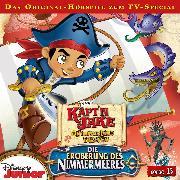 Cover-Bild zu Disney - Käpt´n Jake und die Nimmerland Piraten - Folge 15 (Audio Download) von Bingenheimer, Gabriele