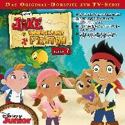 Cover-Bild zu Disney - Jake und die Nimmerland Piraten - Folge 7 (Audio Download) von Bingenheimer, Gabriele