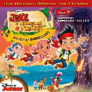Cover-Bild zu Disney - Jake und die Nimmerland Piraten - Folge 9 (Audio Download) von Bingenheimer, Gabriele