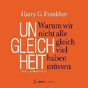 Cover-Bild zu Frankfurt, Harry G.: Ungleichheit (Audio Download)