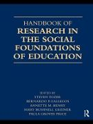 Cover-Bild zu Tozer, Steven (Hrsg.): Handbook of Research in the Social Foundations of Education (eBook)