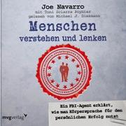 Cover-Bild zu Menschen verstehen und lenken von Navarro, Joe