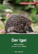 Cover-Bild zu Prinz, Johanna: Der Igel - Kopiervorlagen für die 2. bis 4. Klasse