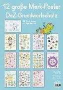 Cover-Bild zu 12 große Merk-Poster DaZ-Grundwortschatz von Redaktionsteam Verlag an der Ruhr