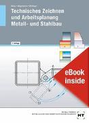 Cover-Bild zu eBook inside: Buch und eBook Technisches Zeichnen und Arbeitsplanung - Metall- und Stahlbau von Moos, Josef