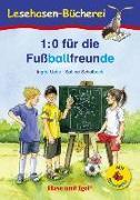 Cover-Bild zu 1:0 für die Fußballfreunde / Silbenhilfe von Uebe, Ingrid