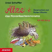 Cover-Bild zu Ätze, das Hosentaschenmonster (Audio Download) von Scheffler, Ursel