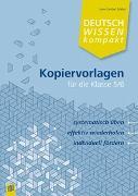 Cover-Bild zu Edeler, Uwe-Carsten: Deutschwissen kompakt: Kopiervorlagen für die Klasse 5/6