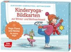 Cover-Bild zu Kinderyoga-Bildkarten zur Winter- und Weihnachtszeit von Gulden, Elke