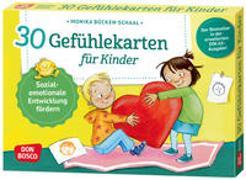 Cover-Bild zu 30 Gefühlekarten für Kinder von Bücken-Schaal, Monika