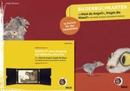 Cover-Bild zu Bilderbuchkarten »Hast du Angst?«, fragte die Maus?« von Rafik Schami und Kathrin Schärer von Ehmann, Antje