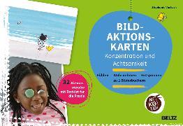 Cover-Bild zu Bild-Aktionskarten Konzentration und Achtsamkeit von Vortisch, Stephanie