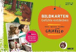 Cover-Bild zu Der Grüffelo. Bildkarten Gefühle entdecken von Krempin, Maren