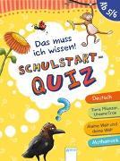 Cover-Bild zu Das muss ich wissen. Schulstart-Quiz (ab 5/6) von Seeberg, Helen