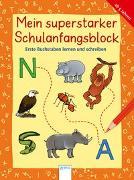 Cover-Bild zu Erste Buchstaben lernen und schreiben von Christiane, Krapp