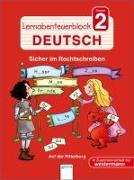 Cover-Bild zu Lernabenteuerblock Klasse 2 Deutsch. Auf der Ritterburg von Seeberg, Helen